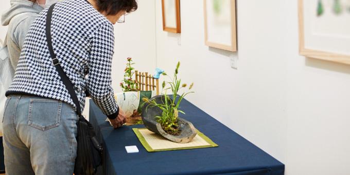 野の花・野草アート展